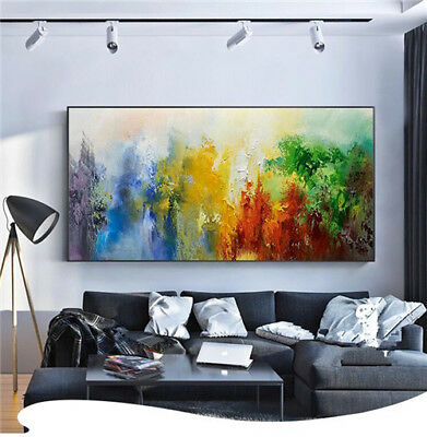 Modern Hand-painted Scenery oil painting on canvas Color art No Frame 24x48in