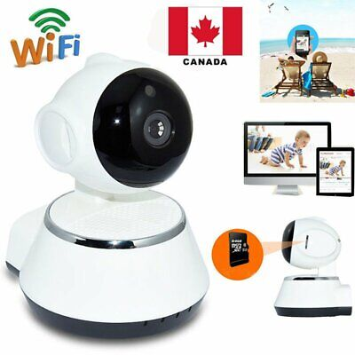 Wireless 720P Pan Tilt Network Home CCTV IP Camera IR Night Vision WiFi Webcam C