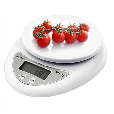 5000g/1g Kitchen Scale Digital Commercial Shop Electronic Weight Scales Food HE7