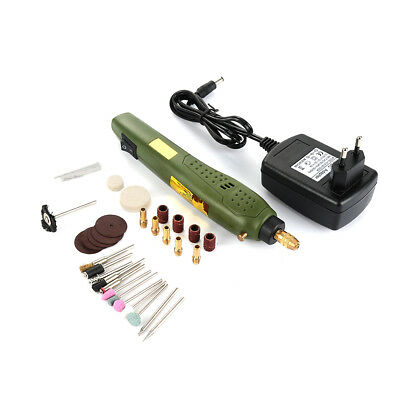 Handy Mini Electric Drill Grinder Engraver Rotary Tools Kit Adjustable Speed HE7