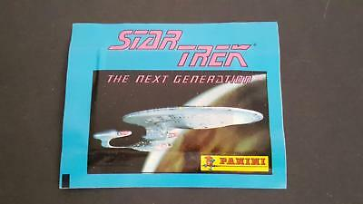 1992 Star Trek TNG The Next Generation 9 packs of Panini stickers MIP