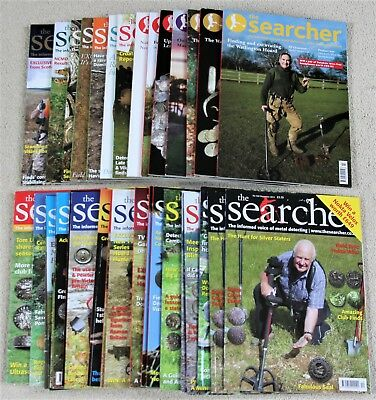 The Searcher Metal Detecting Magazines - huge choice available ...