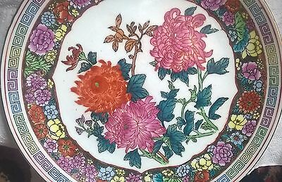 18/19 century hand painted large charger