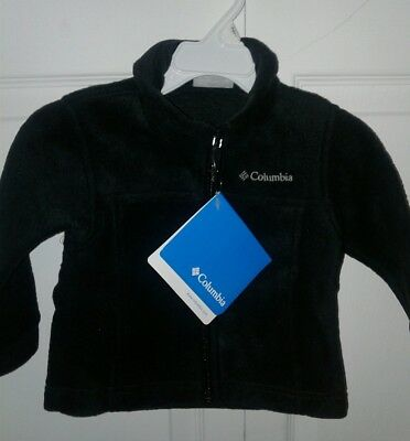 NWT Columbia Toddler Boys'  Steens Mountain II Fleece Jacket size 2T color Black