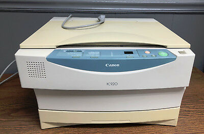 Canon Pc920 Printer Copier
