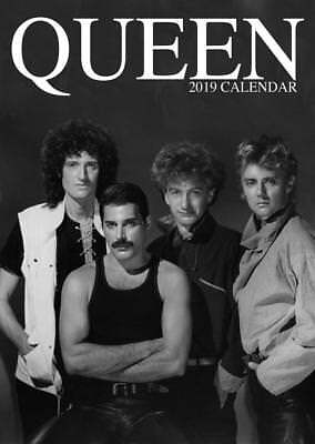 Queen 2019 Calendar Large Uk Poster Wall By Oc + Free Uk Postage !!