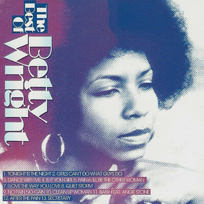 Best Of BETTY WRIGHT Mixtape DJ Compilation Mix CD Old School Lovers Mix
