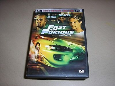 "DVD,""FAST AND FURIOUS"",vin diesel,paul walker"