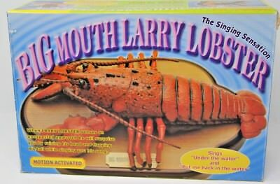 NEW Big Mouth Larry Lobster Singing Shellfish Motion Activated Billy Bass Cousin