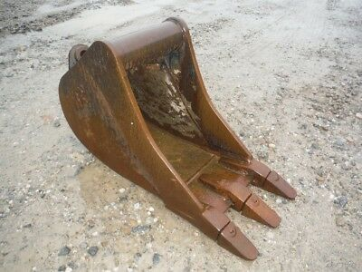 "Used Wain Roy 12"" Mini Excavator Tooth Bucket!"