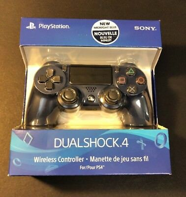 Official Sony PS4 DualShock 4 Wireless Controller [ Midnight Blue Edition ] NEW