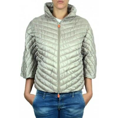 E7218 GIUBBOTTO DONNA black SAVE THE DUCK ULTRA LIGHT piumino jacket ... 569e0db7460