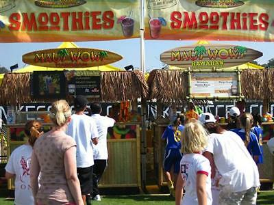Mobile Event Business Maui Wowi Hawaiian Smoothies and Coffees Franchise forsale