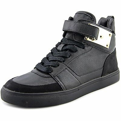 Madden Girl Womens ADORREE Leather Hight Top Lace Up Fashion Sneakers