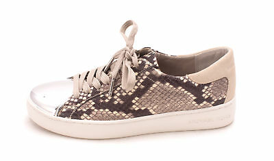 MICHAEL Michael Kors Womens frankie sneaker Leather Low Top Lace Up Fashion S...