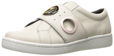 Calvin Klein Womens danette Low Top Pull On Fashion Sneakers