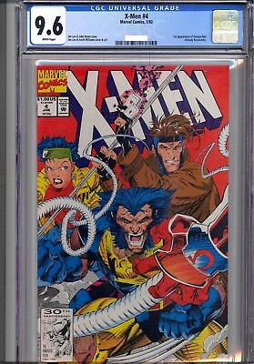 X-Men 4 (1992) CGC 9.6 White Pages 1st Appearance Of Omega Red