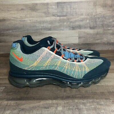 online store 90e06 22ede Nike Air Max 95 Dynamic Flywire Sz 8 Turqouise 554715–383 Blue Green