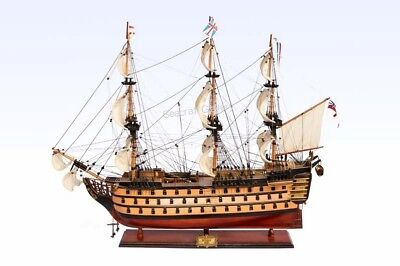 NEW HMS Victory Painted Ship Model