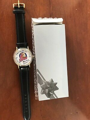 (1)MORRIS THE CAT 25th ANNIVERSARY WRIST WATCH (1) 9 LIVES CAT FOOD WATCH