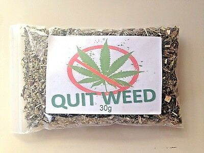 QUIT WEED Puff Stone Anxiety Stress Herbal Smoking Blend Rollie Pipe Choof Tea
