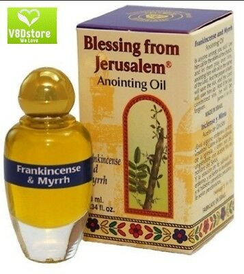 New Frankincense and Myrrh Anointing Perfumed Oil with Biblical Spices 10 ml