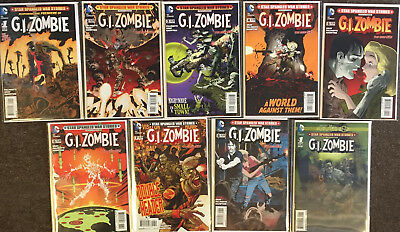 DC Comics Star Spangled War Stories G.I. Zombie Complete Set 1-8,Futures End GI