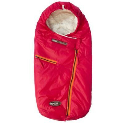 7 A.M. Enfant Papoose Size 18 Months - 3t Foot Muff In Fuschia