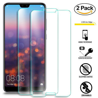 9H HD Clear Tempered Glass Screen Protector for Huawei P20 Pro/ Lite Film Guard