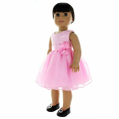 Doll Clothes Flowers Dresse Outfit Fits American Girl & Other 18 Inch Dolls
