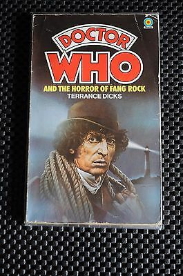 Dr Who And The Horror Of Fang Rock 1St Edition Paperback Book