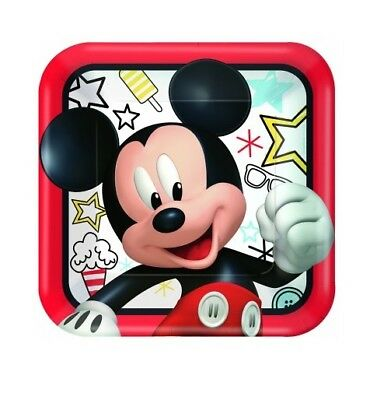 Party Supplies Birthday Decorations Mickey Mouse On The Go Large Plates Pk 8
