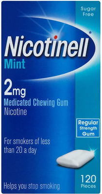 NICOTINELL CHEWING GUM X 120 Pieces (Choose Strength / Flavour)