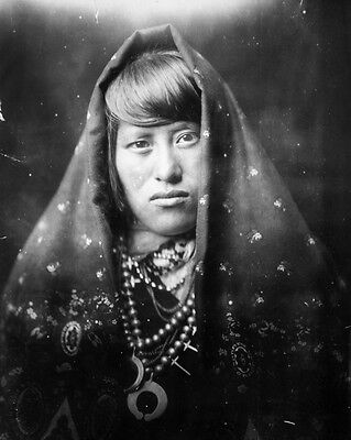 New 8x10 Native American Photo: Acoma Indian Woman, North American Indian - 1905