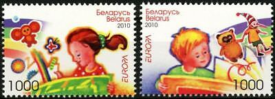 "Belarus- 2010 Europa Cept ""Children Books"" MNH**"