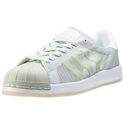 074757d488b6 ADIDAS SUPERSTAR BOUNCE Mens Light Green Mesh   Synthetic Trainers -  53.59