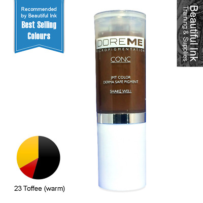 Best Selling Doreme CONC Microblading Pigments - 23 Toffee SPMU Permanent Makeup