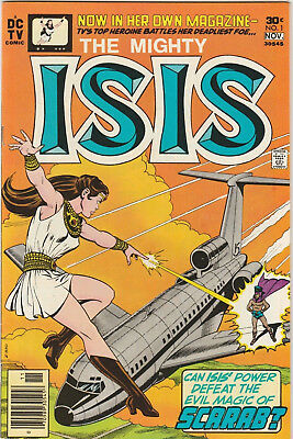 The Mighty Isis #1 VF+ 1976 DC Comics Key Issue First Wife Black Adam TV Scarab