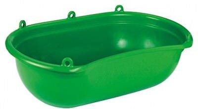 Kerbl 2985 Spreading Tub with Trough Plastic 20 Litres Green