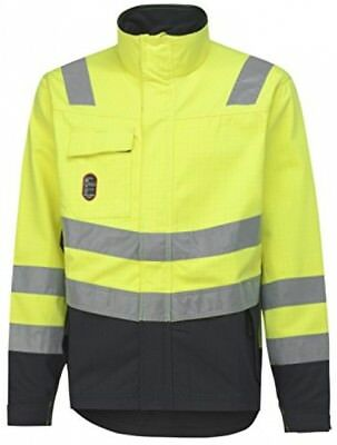 Helly Hansen 76072_369-M Size Medium Aberdeen Flame Retardant Jacket - Yellow