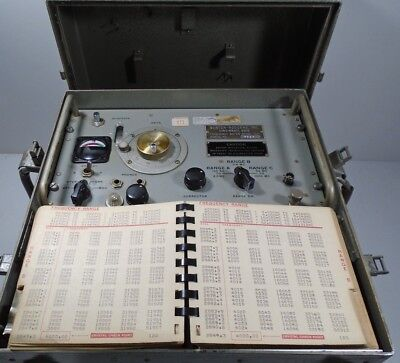 BURTON-RODGERS Frequency Meter 1021   Ex Dutch Army
