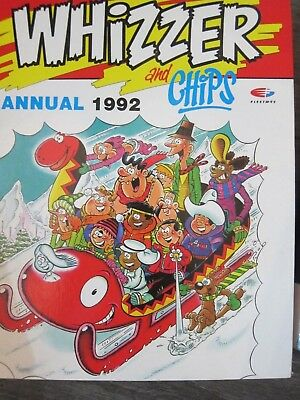Whizzer And Chips Vintage Annual 1992