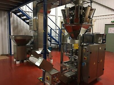 Form, Fill and Seal Packaging line - Ecompack Mint condition 2014