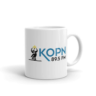 KOPN Coffee Mug -- Autographed by the Show Hosts of Your Choice!