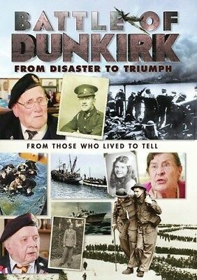 Battle Of Dunkirk: From Disaster To Triumph (2018, DVD NUOVO) (REGIONE 1)