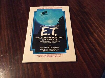 Steven Spielberg's E.T. The Extra-Terrestrial Storybook Young Readers Edition