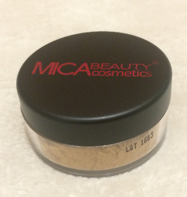 Mineral Foundation Powder Makeup MF6 Cream Caramel Mica Beauty MicaBella 01/2021