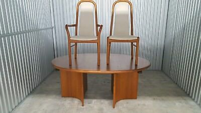 Danish Dining Table And 6 Chairs.