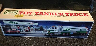 Vintage 1990 HESS Gasoline Tanker Toy Truck Brand New in Box REDUCED PRICE