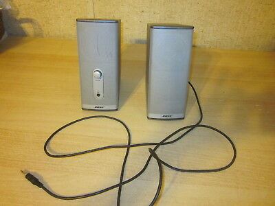 Bose 2 Companion 2 Series II Multimedia Speakers with No Power Supply